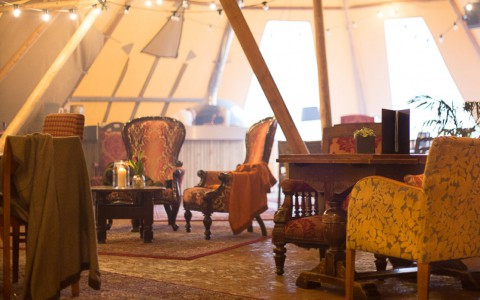 Get Cosy Under Canvas In Our Hygge Tipi